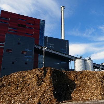 Biomassekraftwerk Biomasseheizkraftwerk Hackschnitzel Architekten Kleinknecht Leipzig
