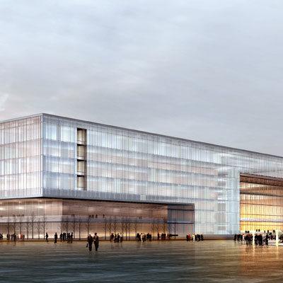 Kulturzentrum Kongresshalle Architekten Kleinknecht Leipzig