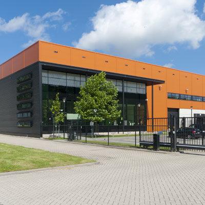 Logostik Lagerhalle Produktionsgebäude Architekten Kleinknecht Leipzig