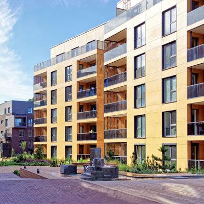 Wohnungsbau Siedlungsbau Mehrfamilienhäuser Architekten Kleinknecht Leipzig