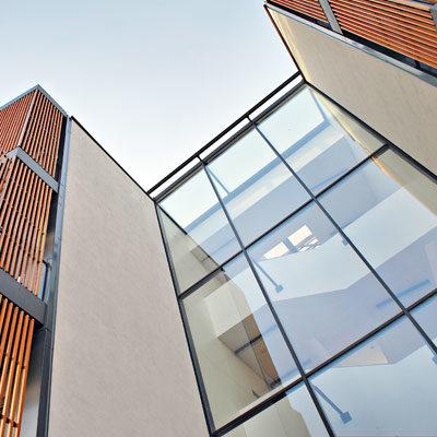 Modernes Wohnhaus Mehrfamilienhaus Architekten Kleinknecht Leipzig