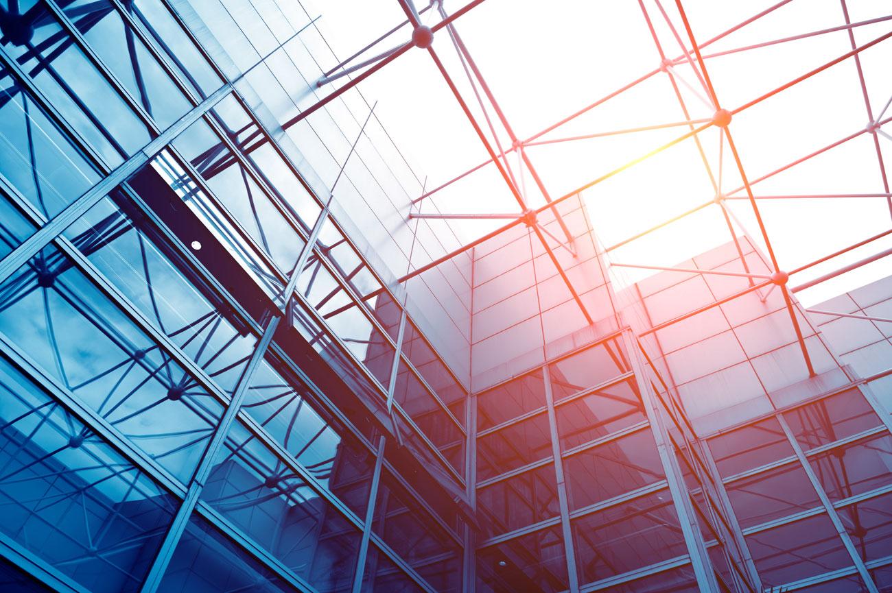 Modernes Bürogebäude Architekten Kleinknecht Leipzig
